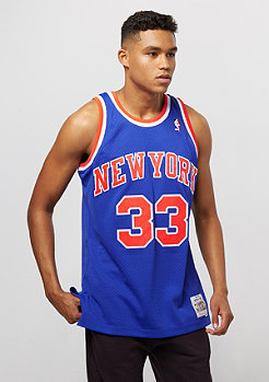 Mitchell & Ness NBA New York Knicks Patrick Ewing Swingman royal/orange