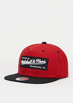 Mitchell & Ness Box Logo red/black