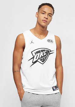 NBA All Star Weekend Jersey West Russell Westbrook Swingman white