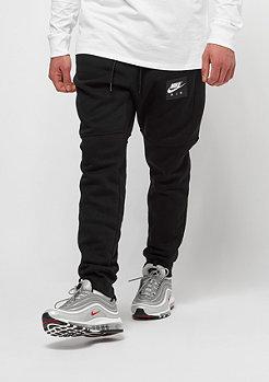 NIKE Air Fleece Jogger black/black/white