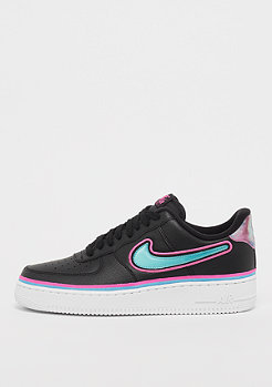 NIKE Air Force 1 '07 LV8 black/blue gale/laser fuchsia/white
