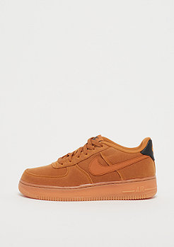 NIKE Air Force 1 LV8 (GS) monarch/monarch/gum med brwon/black