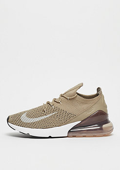NIKE Air Max 270 Flyknit khaki/light bone/sepia stone/black
