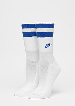 NIKE Fold Over Cuff Crew white/game royal