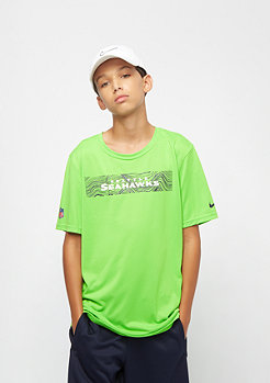 NIKE Junior NFL Seattle Seahawks Onfield Seismic green