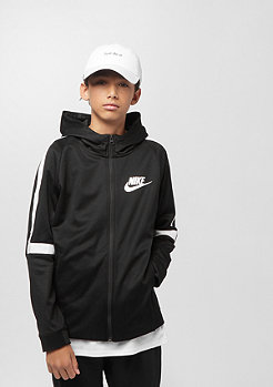 NIKE Junior SW Jkt black/white/white