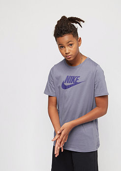 NIKE Kids Crew Future Icon light carbon/deep royal blue