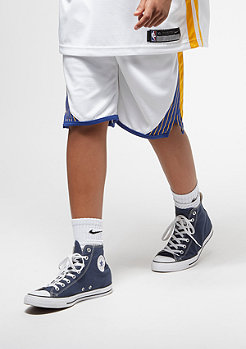 NIKE Kids Golden State Warriors Shorts white