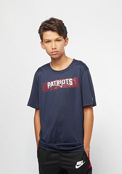 NIKE Junior Onfield Seismic NFL New England Patriots navy