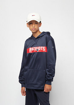 NIKE Kids Therma NFL New England Patriots navy