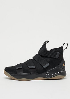 NIKE LeBron Soldier XI black/black-gum light brown