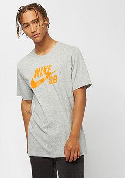 NIKE SB Logo dark grey heather/laser orange