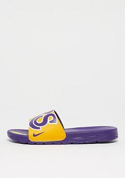 NIKE NBA LA Lakers Solarsoft amarillo/field purple
