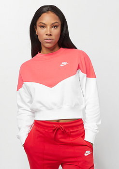 NIKE Sportswear NSW HRTG flc white/ember glow/white