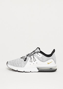 NIKE Running Air Max Sequent 3 (GS) black/black-white-metallic gold