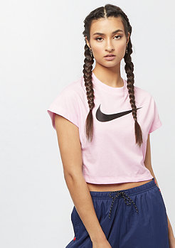 NIKE Swoosh Crop pink foam/black