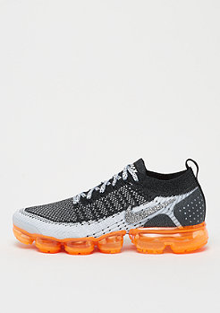 NIKE VaporMax Flyknit 2 white/white/black/total orange