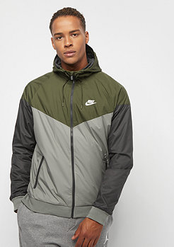 NIKE Windrunner JKT olive canvas/dark stucco/white