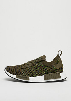 adidas NMD R1 STLT PK trace olive/core black/solar smile