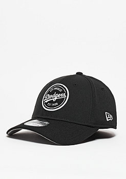 Baseball-Cap Emblem Stretch MLB Los Angeles Dodgers black