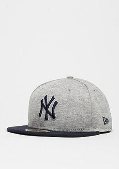 Fitted-Cap 59Fifty Team Jersey Crown MLB New York Yankees grey/team