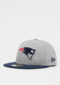 New Era 59Fifty NFL New England Patriots heather grey/otc