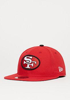 Snapback-Cap 9Fifty NFL San Francisco 49ers Joe Montana red