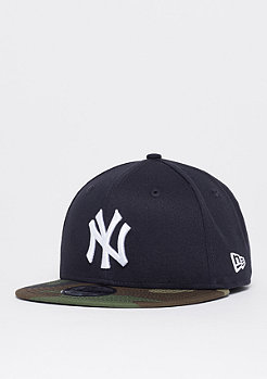 New Era 9Fifty MLB New York Yankees Team Camo navy/woodland camo