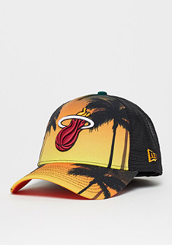 New Era 9Forty NBA Miami Heat Coastal Heat orange/dark green/multi