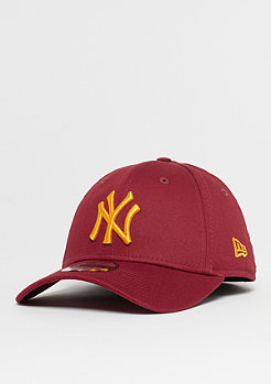 New Era 39Thirty MLB New York Yankees League cardinal/buttersquash