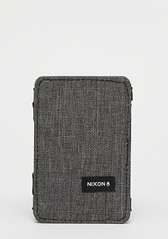 Nixon Atlas Magic Card Wallet charcoal heather