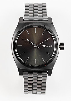 Nixon Uhr Medium Time Teller all black