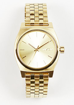 Nixon Uhr Medium Time Teller all gold