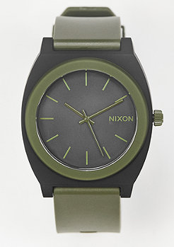 Nixon Uhr Time Teller P matte black/surplus