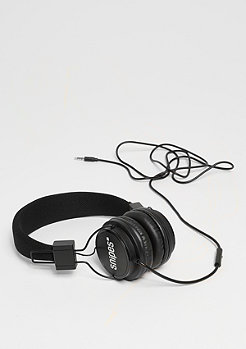 On Ear Headphones black/white