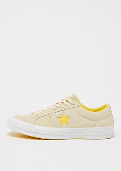 Converse One Star Ox vanilla/solar power/white/black