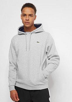 Lacoste Hoody Sweatshirt silver chine/navy blue