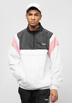 SNIPES Block Windbreaker white/black/pink