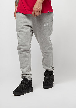 NIKE Pantalones de training Sportswear Jogger gris oscuro/blanco