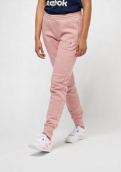Reebok F Franchise Fleece Pant chalk pink/classic white