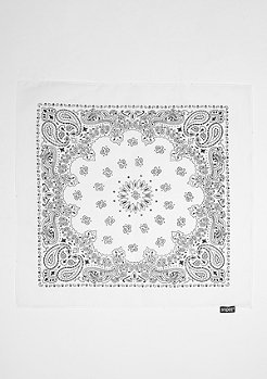 SNIPES Bandana white
