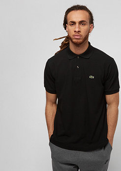 Lacoste Short Sleeved Ribbed Collar Shirt black
