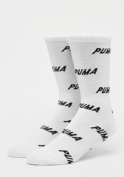 Puma All Over Logo 2P white/black