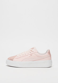 Puma Basket Platform Canvas pearl-rose gold
