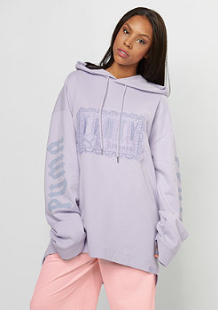 Fenty by Rihanna Long Sleeve Lacing Hoodie thistle