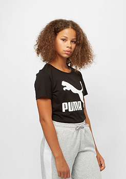 Puma Junior Classics Logo cotton black