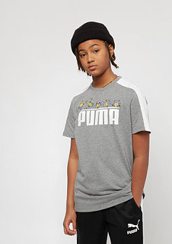 Puma Kids Minions medium gray heather