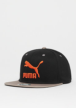 Puma LS Colour Block puma black/elephant skin