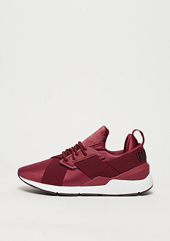 Puma Muse Satin II pomegranate white