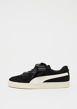 Puma Suede Heart Jewel black-whisper white